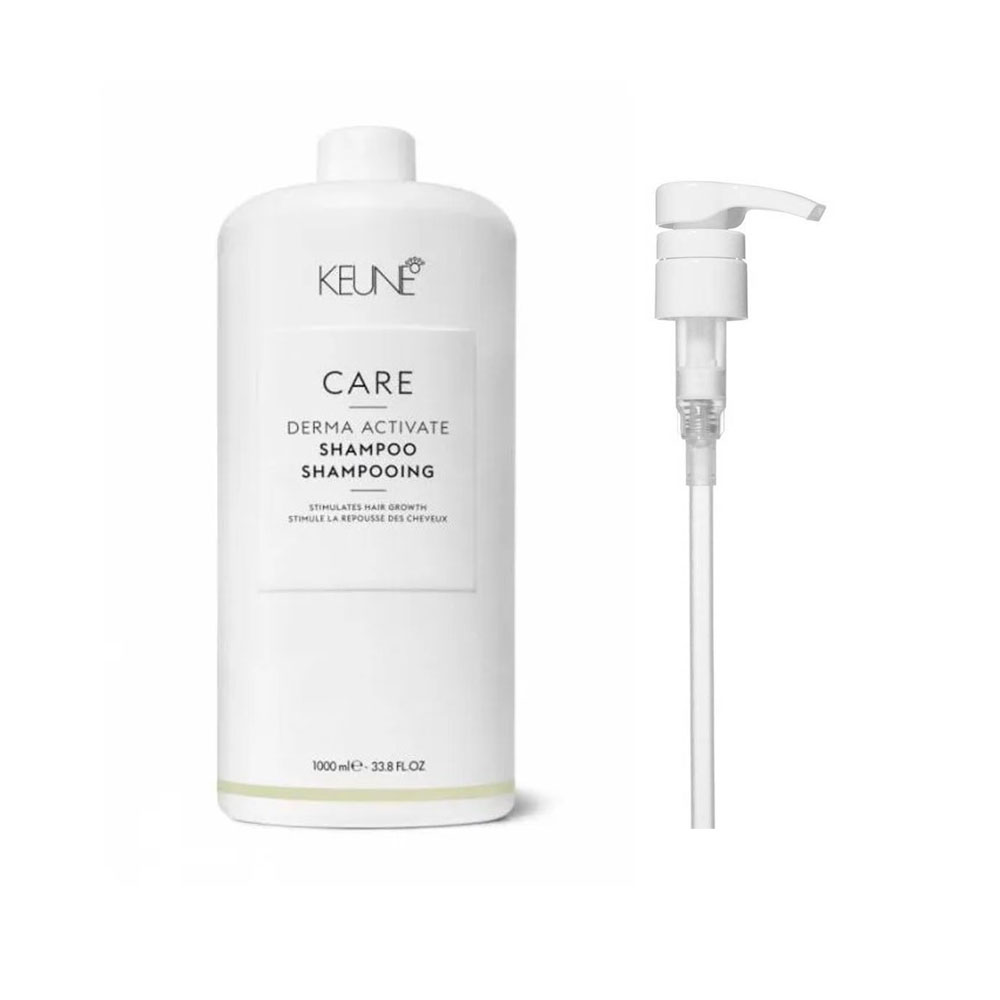 Shampoo Keune Derma Activate 1000ml + Brinde Pump