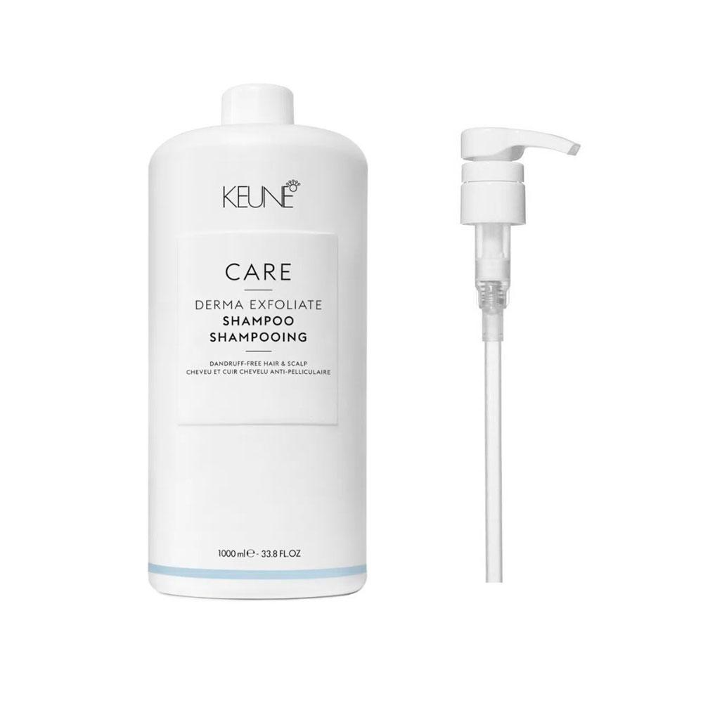 Shampoo Keune Derma Exfoliate 1000ml + Brinde Pump