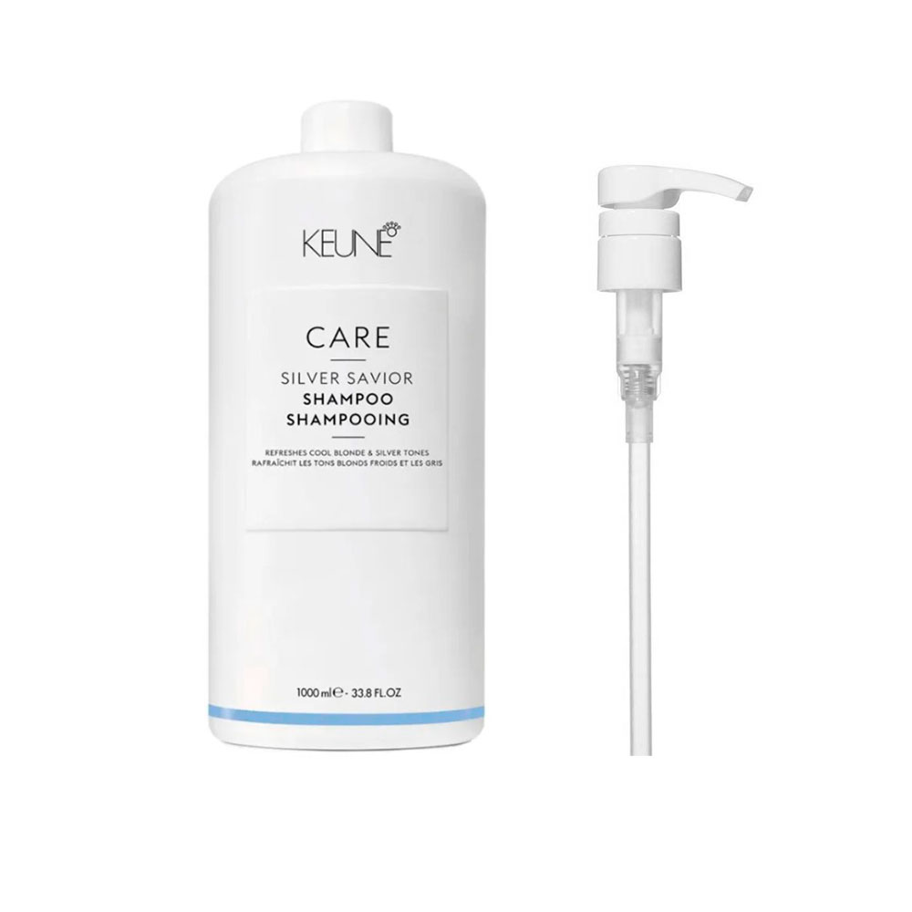 Shampoo Keune Silver Savior 1000ml + Brinde Pump