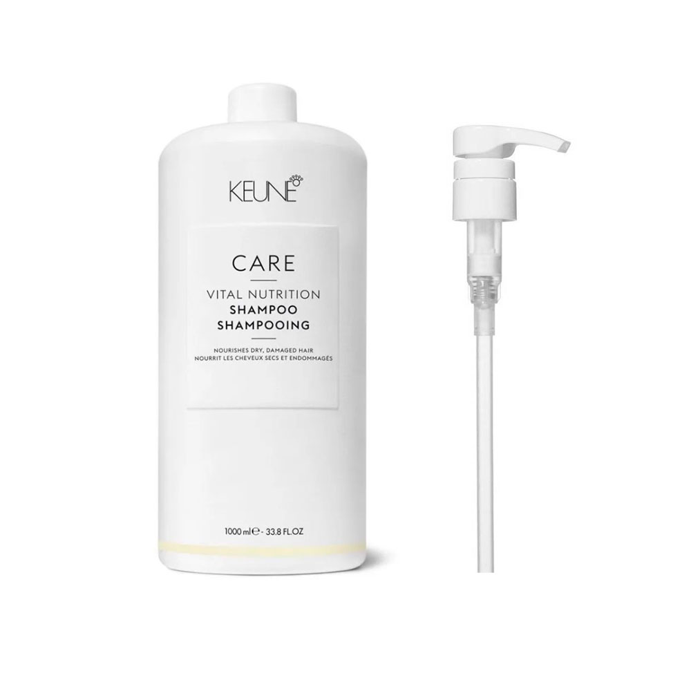 Shampoo Nutritivo Keune Vital Nutrition 1000ml + Brinde Pump