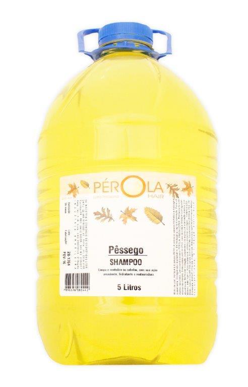 Shampoo Pessego Pérola 5L - Galão