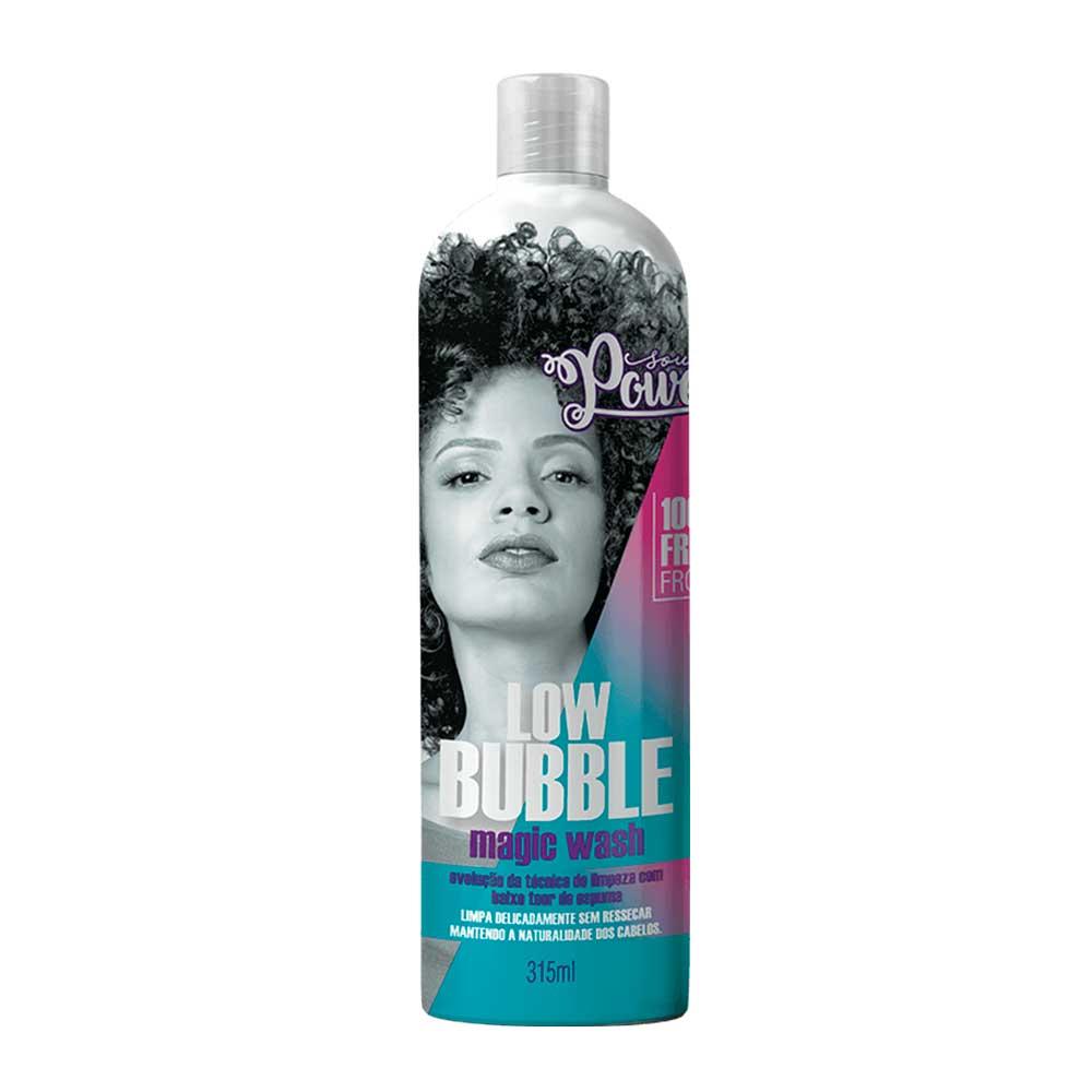 Shampoo Pouca Espuma Soul Power Low Bubble Magic Wash 315ml