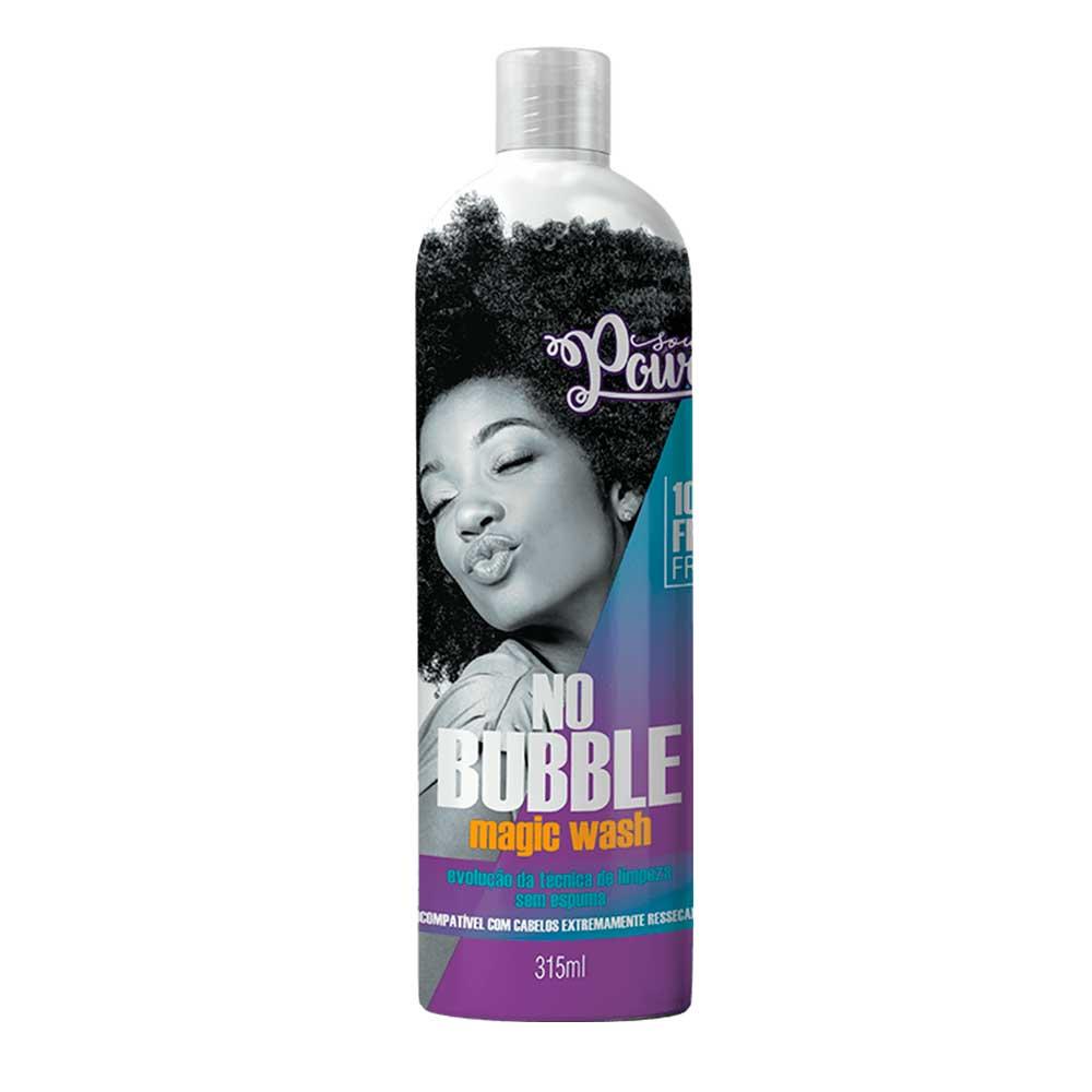 Shampoo Sem Espuma Soul Power No Bubble Magic Wash 315ml