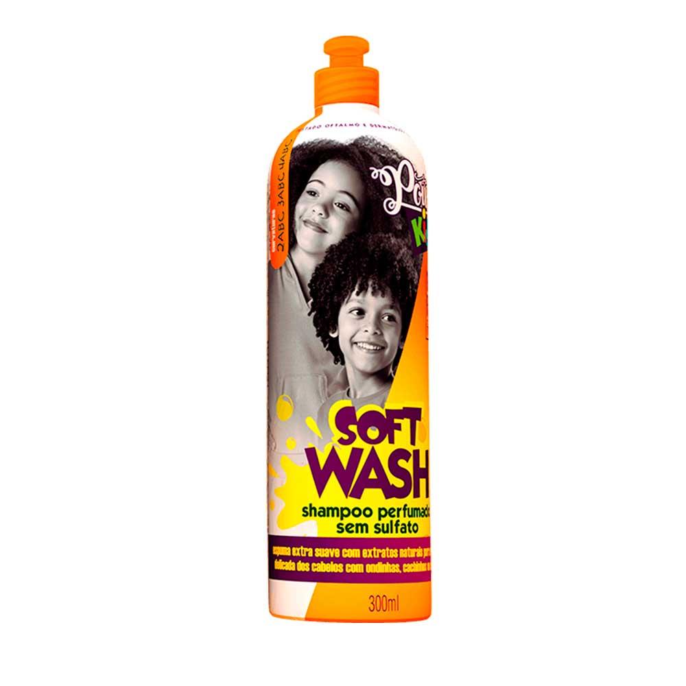 Shampoo Sem Sulfato Soul Power Kids Soft Wash 300ml