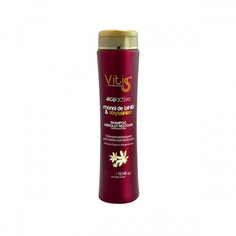 Shampoo Vitiss Ecoactive Monoï Tahiti 500ml