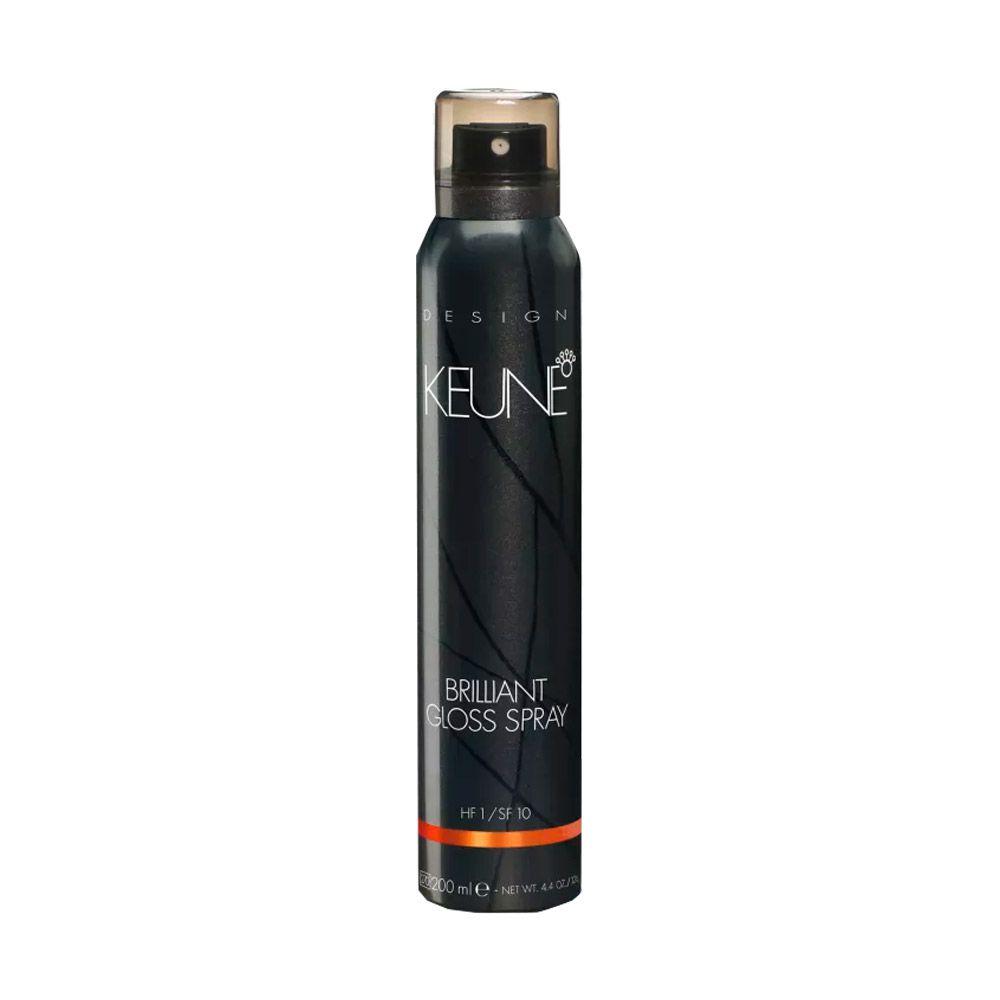 Spray de Brilho Keune Brilliant Gloss Spray 200ml