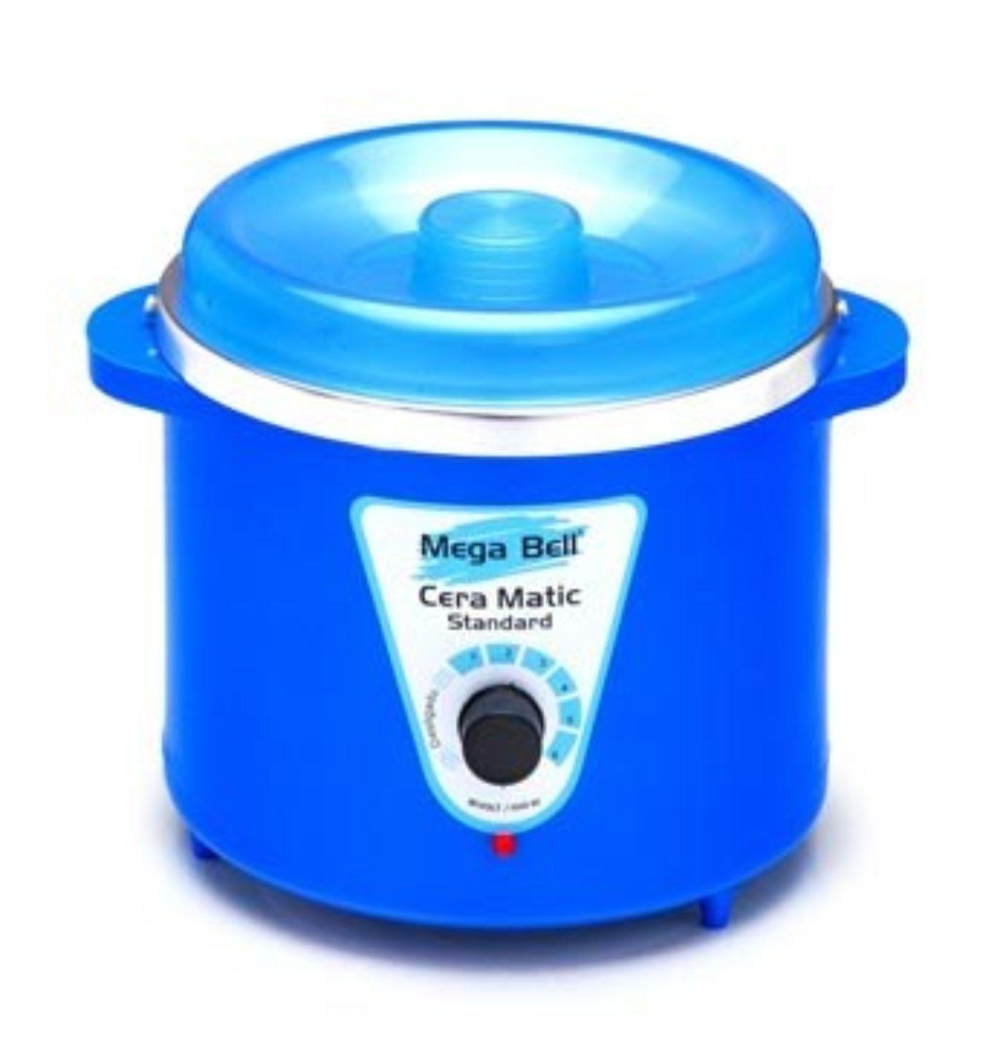 Termocera Aquecedor de Cera Standard 700g Bivolt Mega Bell - Cor Azul