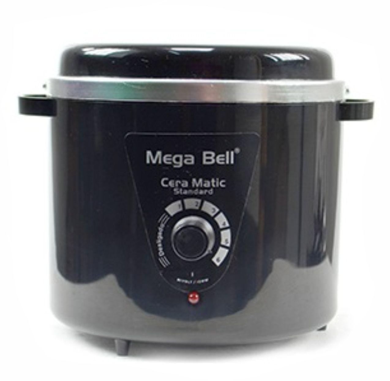 Termocera Aquecedor de Cera Standard 700g Bivolt Mega Bell - Cor Preta