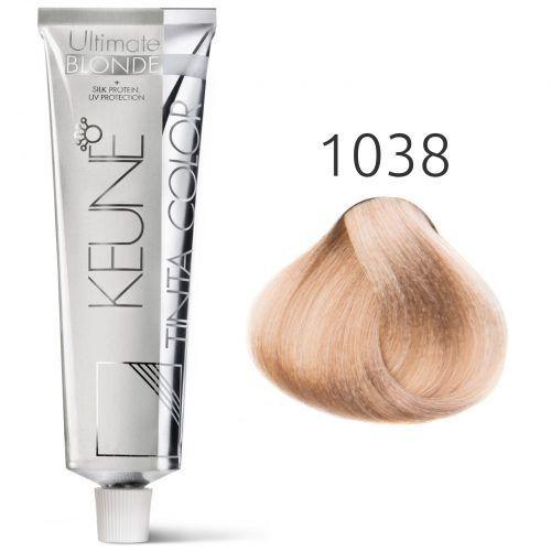 Tinta Color Keune Special Blonde 60ml - Cor 1038 - Louro Avela