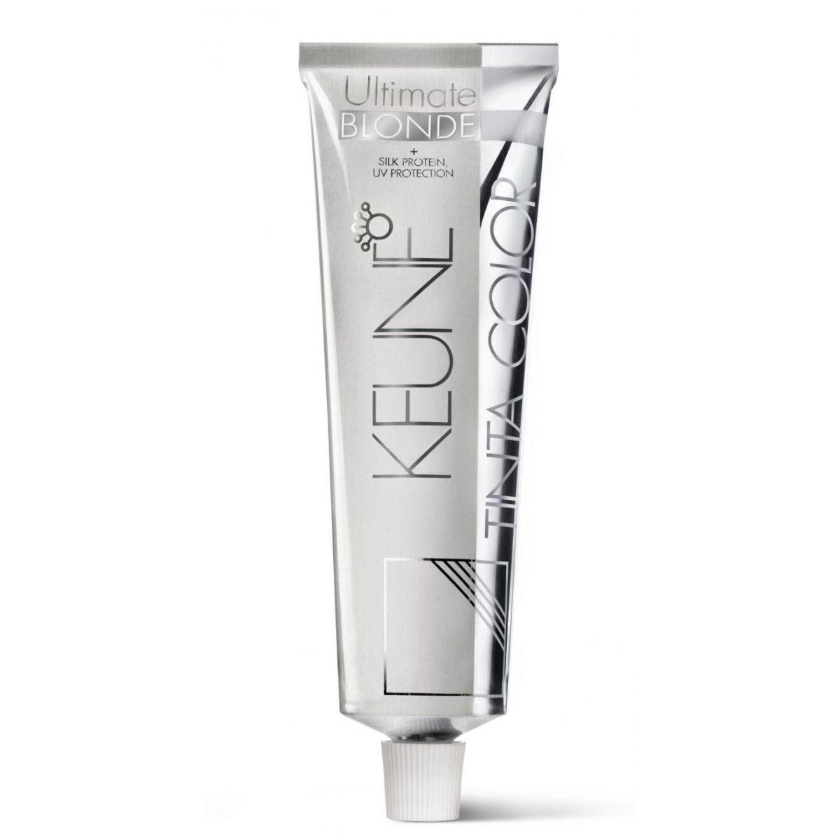 Tinta Keune Color Ultimate Blonde 60ml - Cor 1012 - Louro Cinza Perolado
