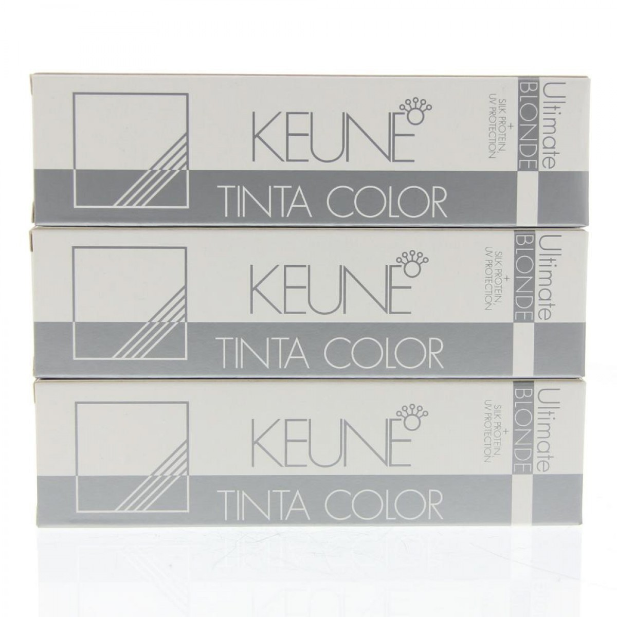 Tinta Keune Color Ultimate Blonde 60ml - Cor 3017 - Louro Ultra Cinza Violeta