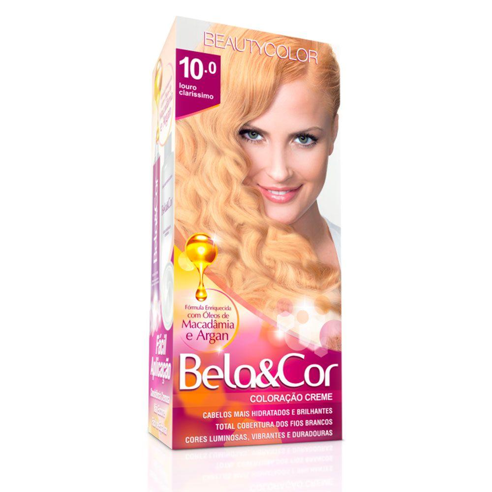 Tinta De Cabelo Beauty Color Bela & Cor 10.0 - Louro Claríssimo