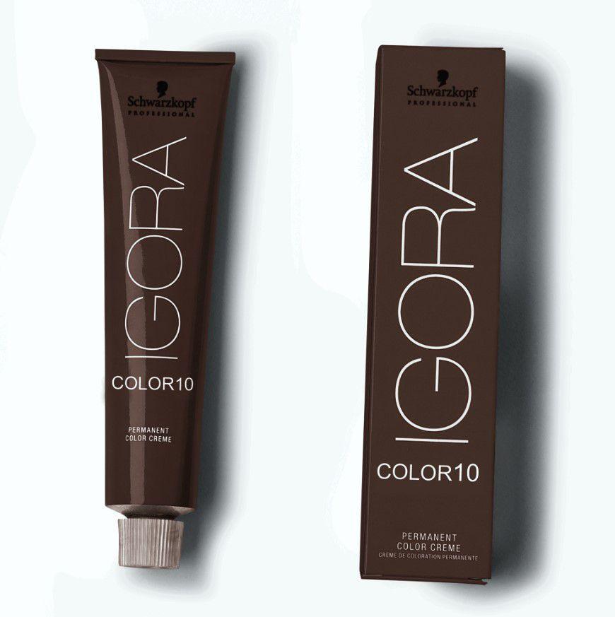 Tinta Igora Color10 60g - Cor 5.68 - Castanho Claro Marrom Vermelho