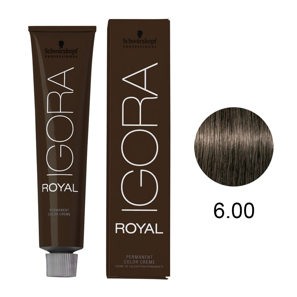 Tinta Igora Color10 60g - Cor 6.00 - Louro Escuro Natural Extra