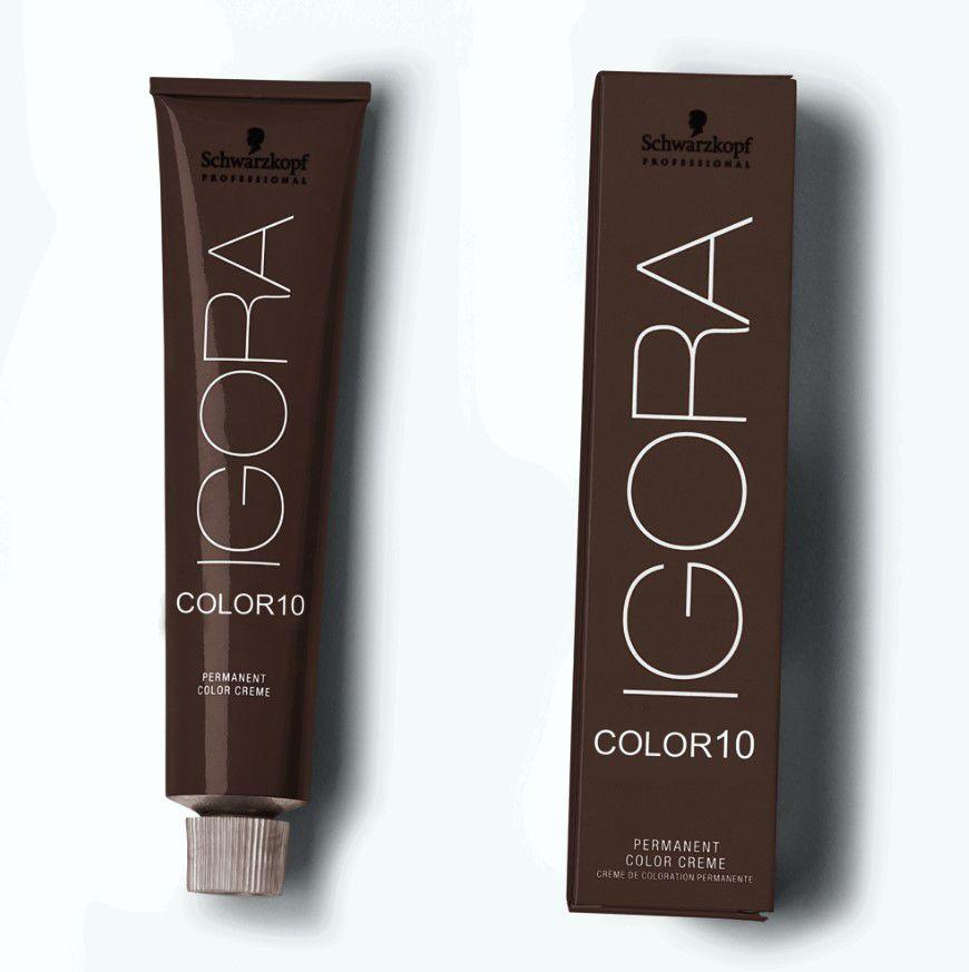 Tinta Igora Color10 60g - Cor 8.65 - Louro Claro Marrom Dourado