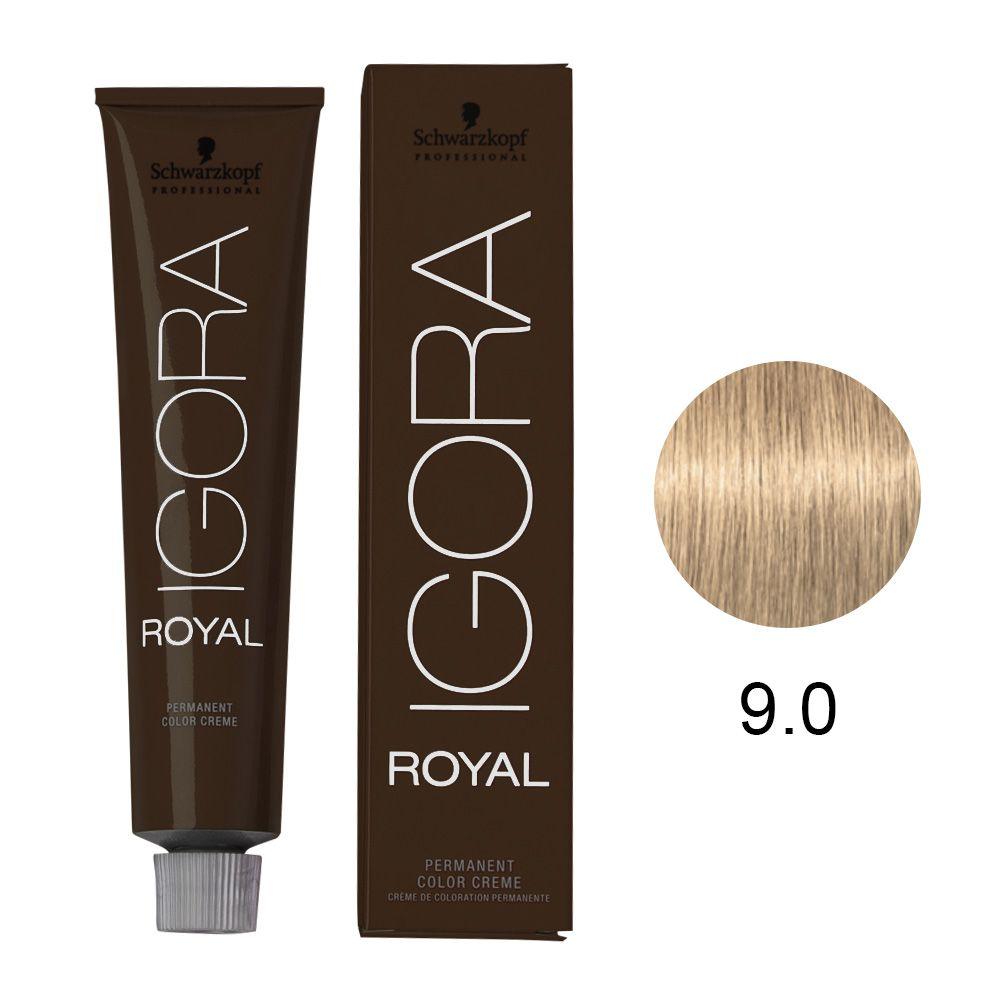 Tinta Igora Color10 60g - Cor 9.0 - Louro Extra Claro