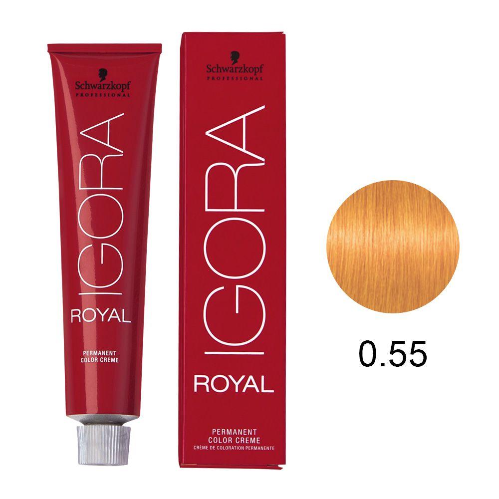 Tinta Igora Royal 60g - Cor 0.55 - Mistura Dourado