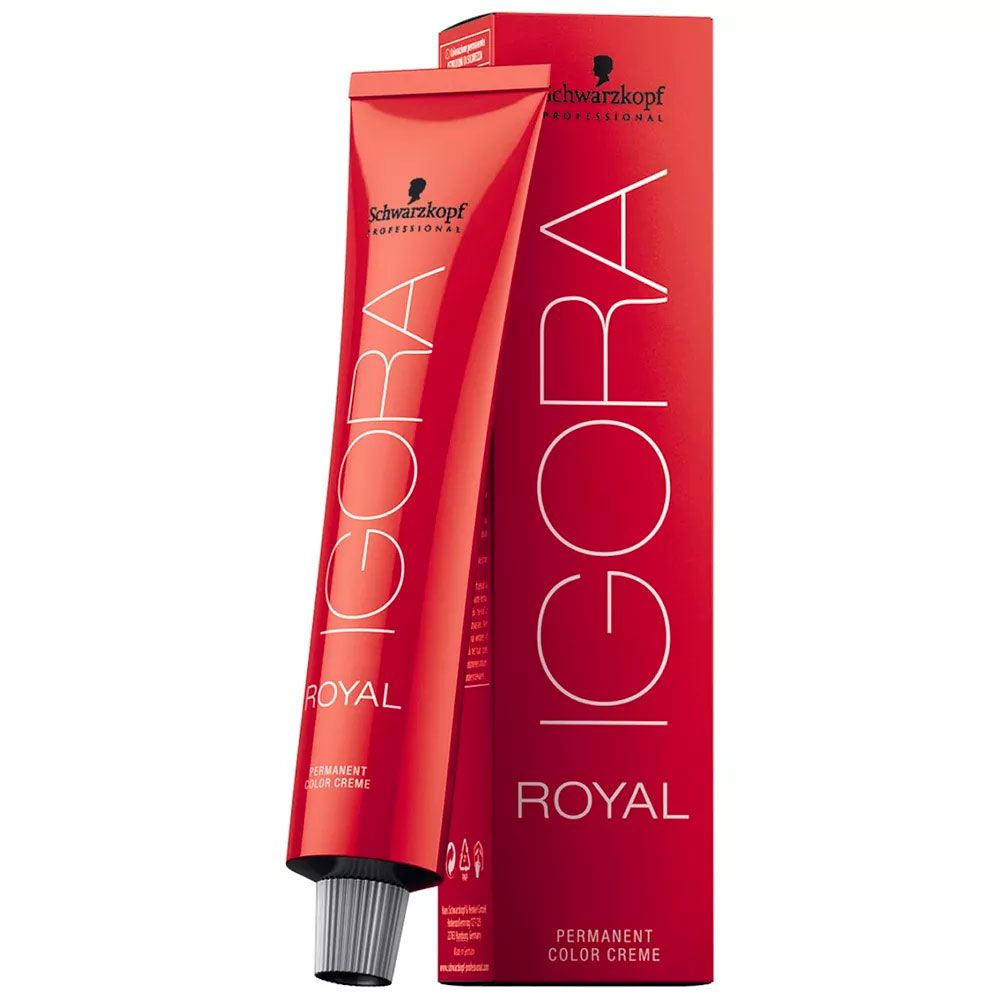 Tinta Igora Royal 60g - Cor 5.68 - Castanho Claro Marrom Vermelho