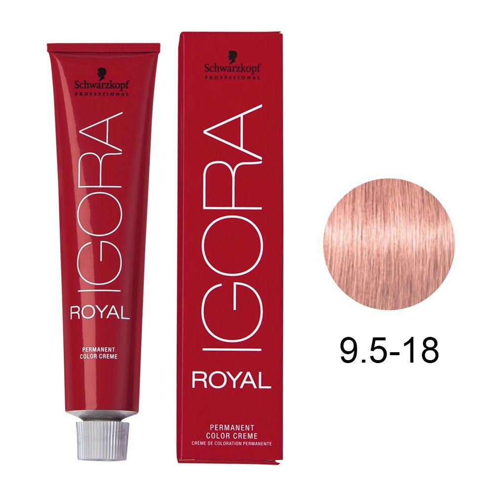 9e98f0d987 Tinta Igora Royal 60g - Cor 9.5-18 - Rosa Rose - Fernanda Cosmeticos ...