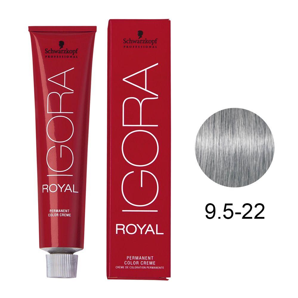 Tinta Igora Royal 60g - Cor 9.5-22 - Perola