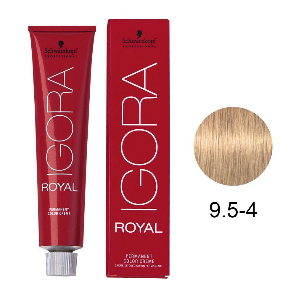 Tinta Igora Royal 60g - Cor 9.5-4 - Bege