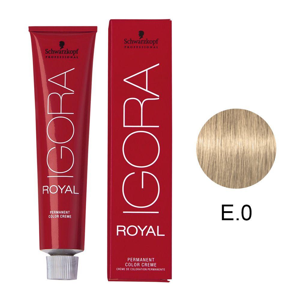 Tinta Igora Royal 60g - Cor E.0 - Especial Clareador