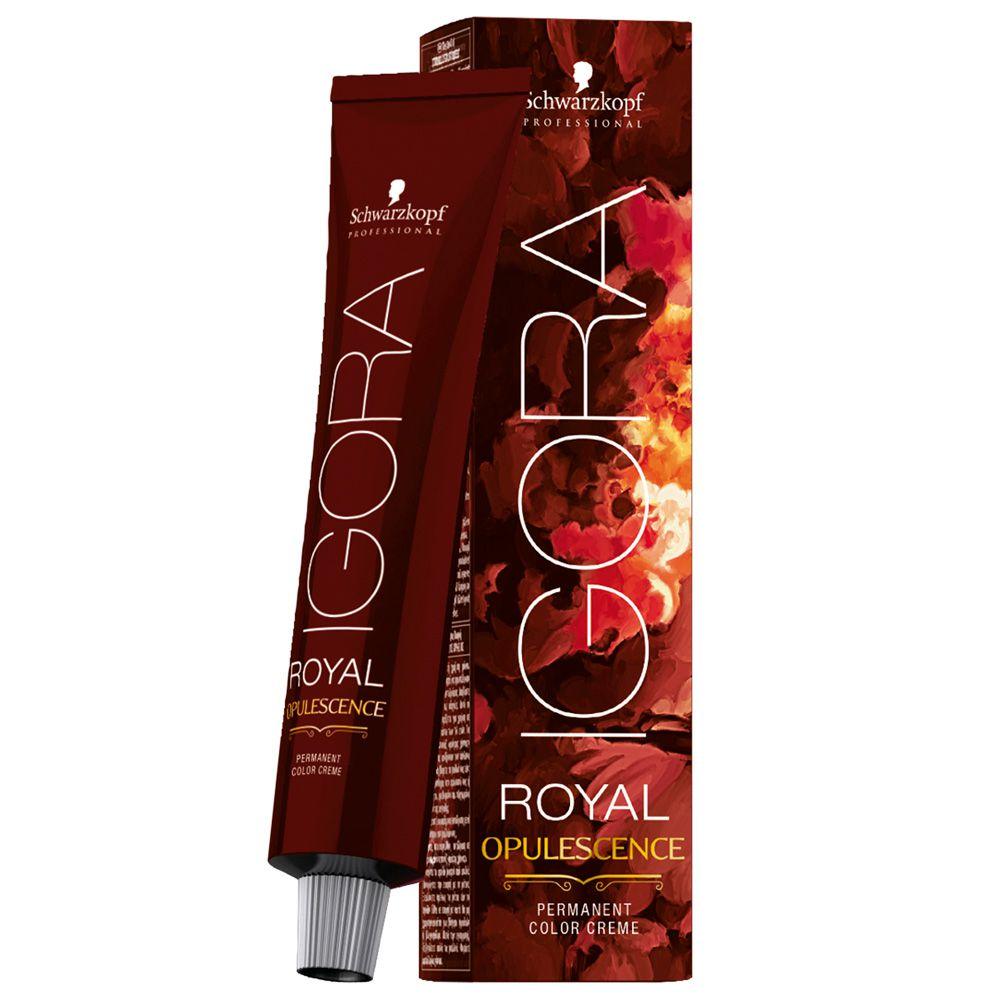 Tinta Igora Royal Opulescence 60g - Cor 9.57 - Louro Extra Claro Dourado Cobre