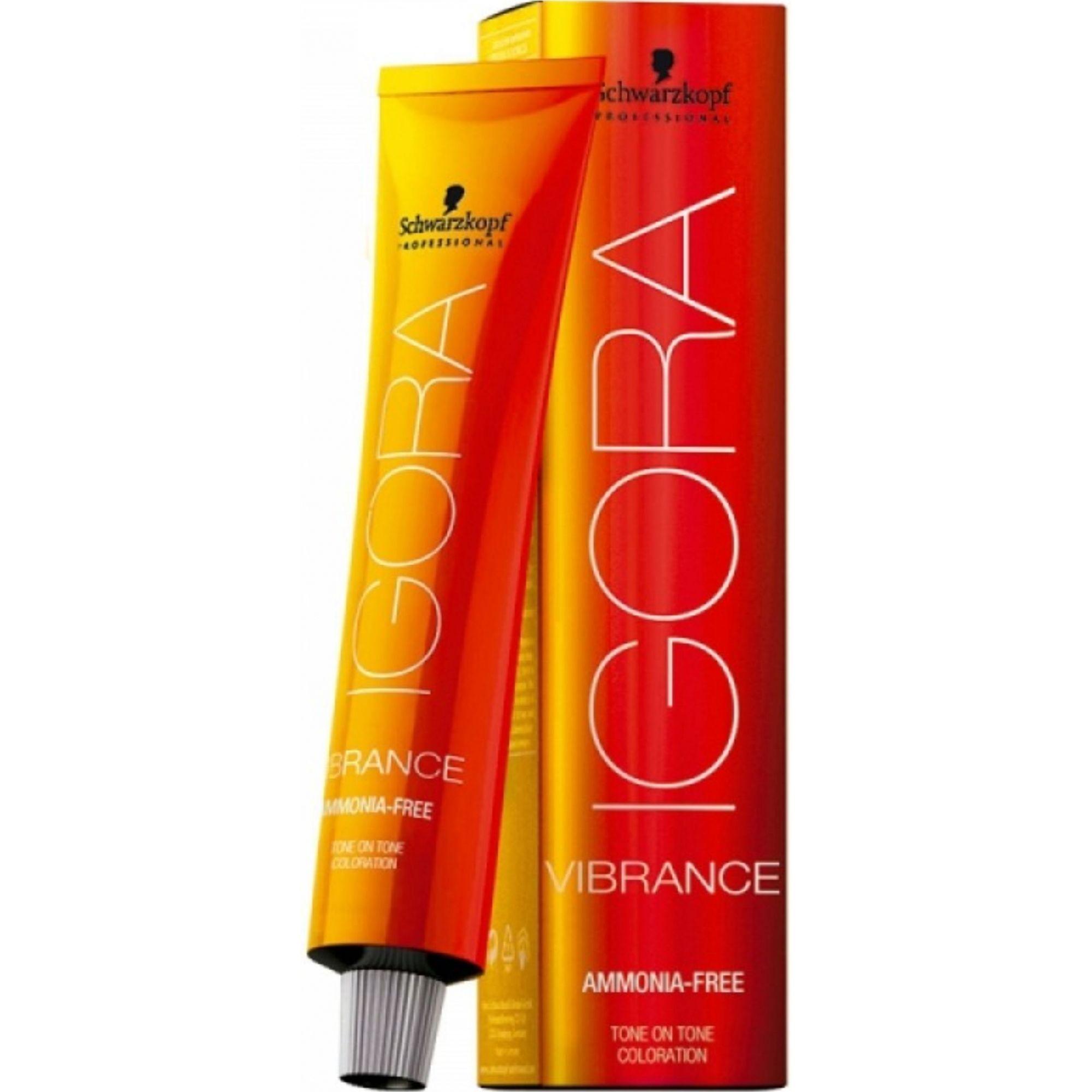 Tinta Igora Royal Vibrance 60g - Cor 9.1 - Louro Extra Claro Cinza