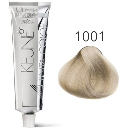 Tinta Keune Color Special Blonde 60ml - Cor 1001 - Louro Cinza