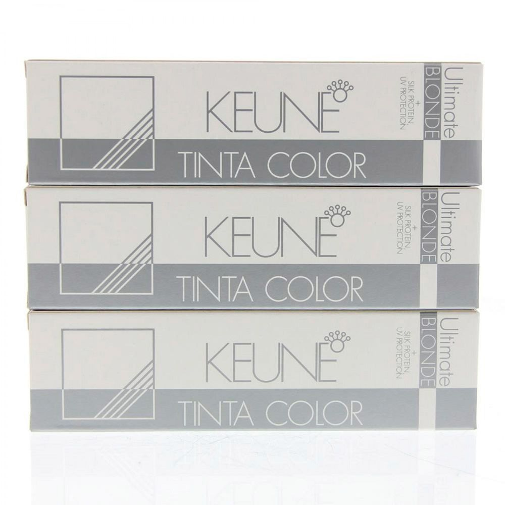 Tinta Keune Color Super Ash Blonde 60ml - Cor 1517 - Super Louro Cinza Violeta