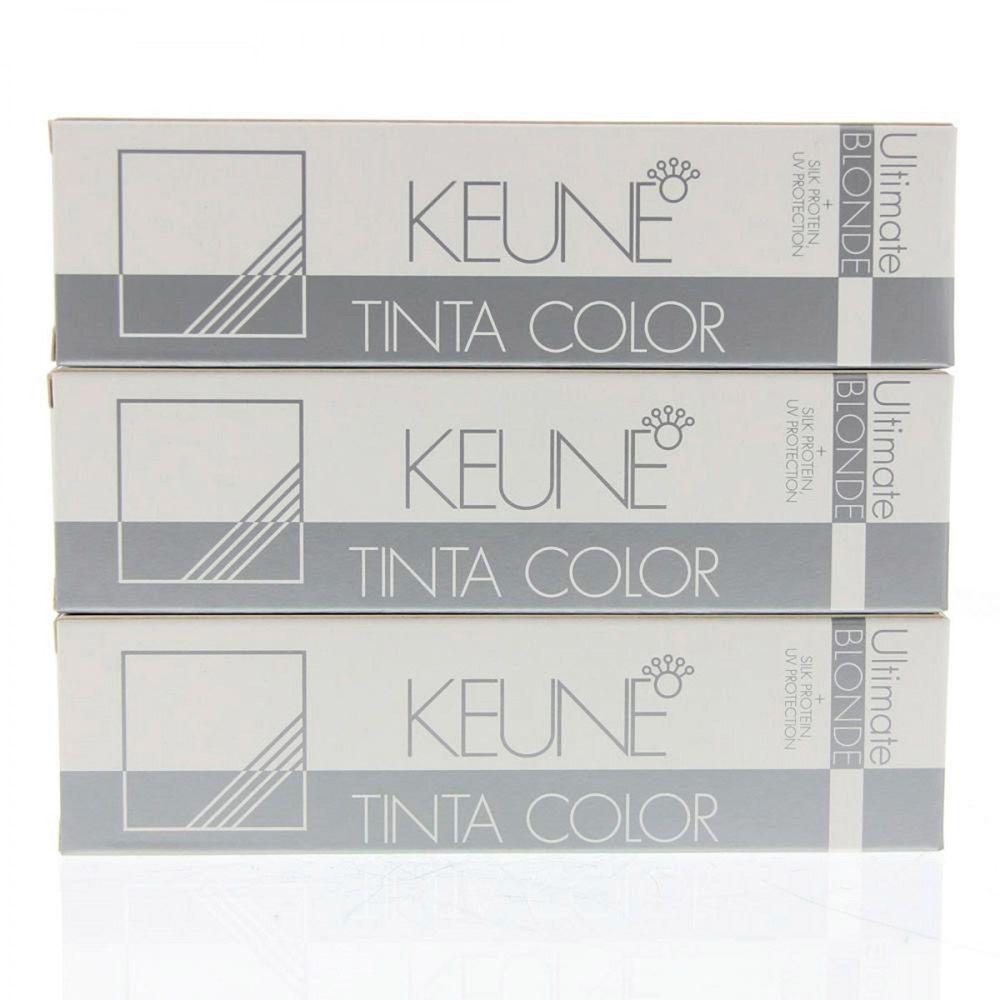 Tinta Keune Color Super Ash Blonde 60ml - Cor 1519 - Super Louro Mate