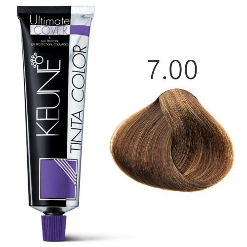 Tinta Keune Color Ultimate Cover Plus 60ml - Cor 7.00 - Louro Médio