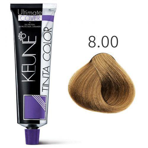 Tinta Keune Color Ultimate Cover Plus 60ml - Cor 8.00 - Louro Claro