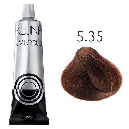 Tinta Keune Semi Color 60ml - Cor 5.35 -  Castanho Claro Chocolate