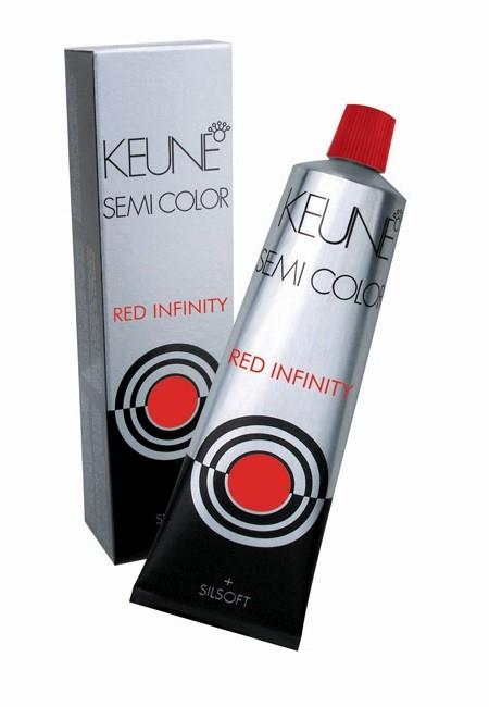 Tinta Keune Semi Color Red Infinity 60ml - Cor 5.56 - Castanho Claro Mogno