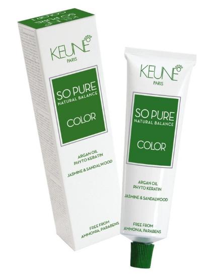 Tinta Keune So Pure 60ml - Cor 10.21- Louro Extra Claro Perola Cinza