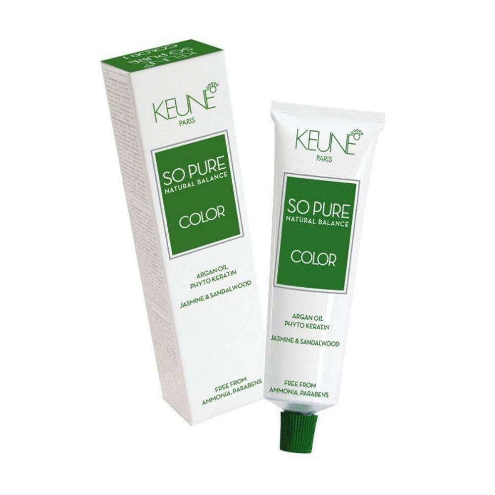 Tinta Keune So Pure 60ml - Cor 8.17 - Louro Claro Cinza Violeta