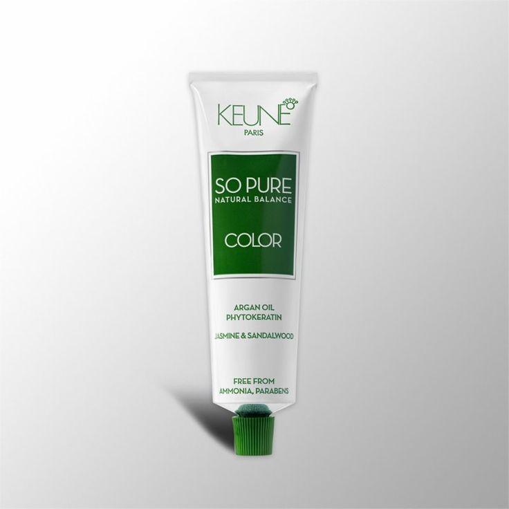 Tinta Keune So Pure 60ml - Cor 6.1 - Louro Escuro Cinza