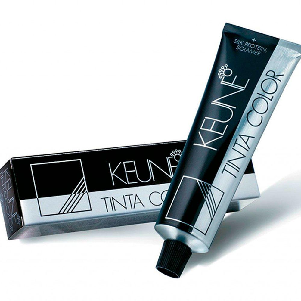 Tintura Color Keune Cor 1 Preto + Creme Oxidante Keune 6% 20 volumes