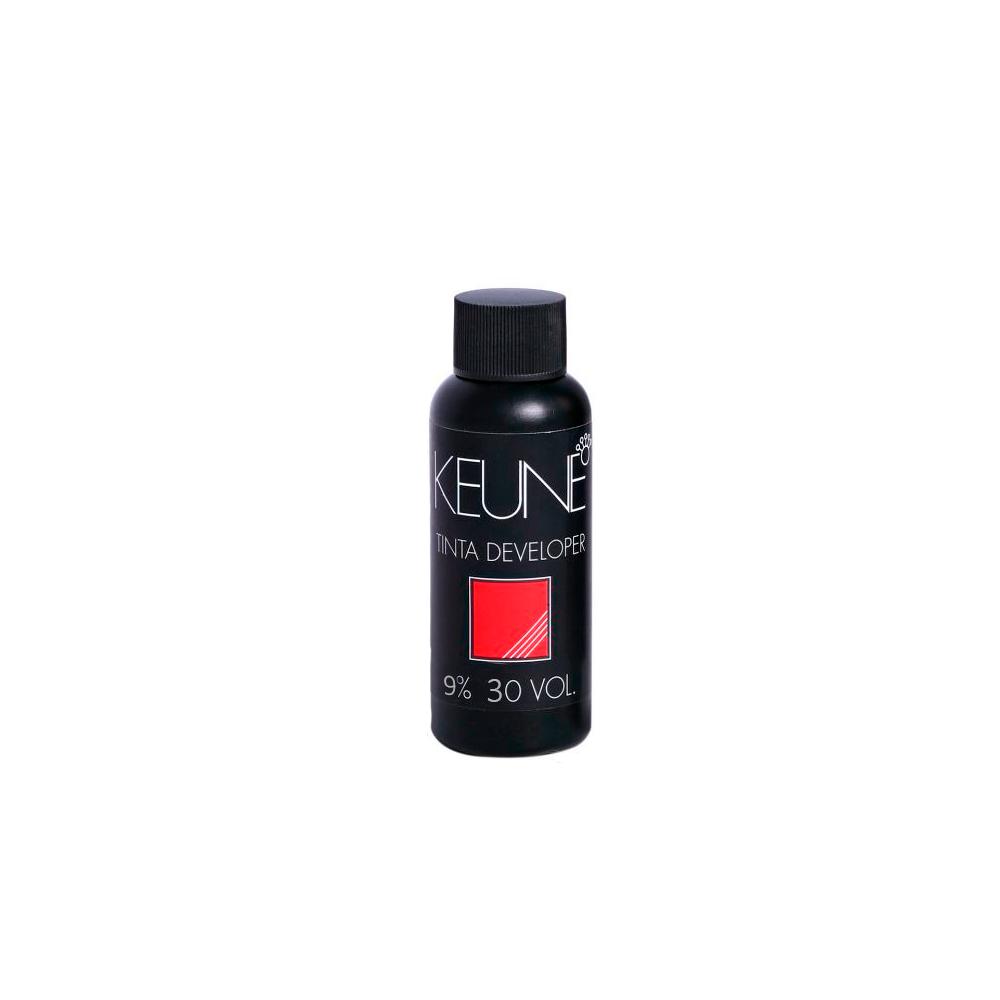 Tintura Color Keune Cor 8.34 Loiro Dourado Cobre + Creme Oxidante Keune 9% 30 volumes