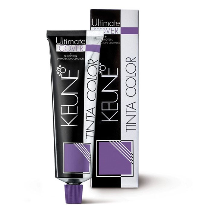 Tinta Keune Color Ultimate Cover 60ml - Cor 4.35 - Marrom Chocolate Médio