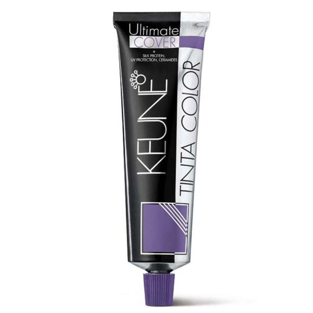 Tinta Keune Color Ultimate Cover 60ml - Cor 8.30 - Louro Claro Dourado Natural