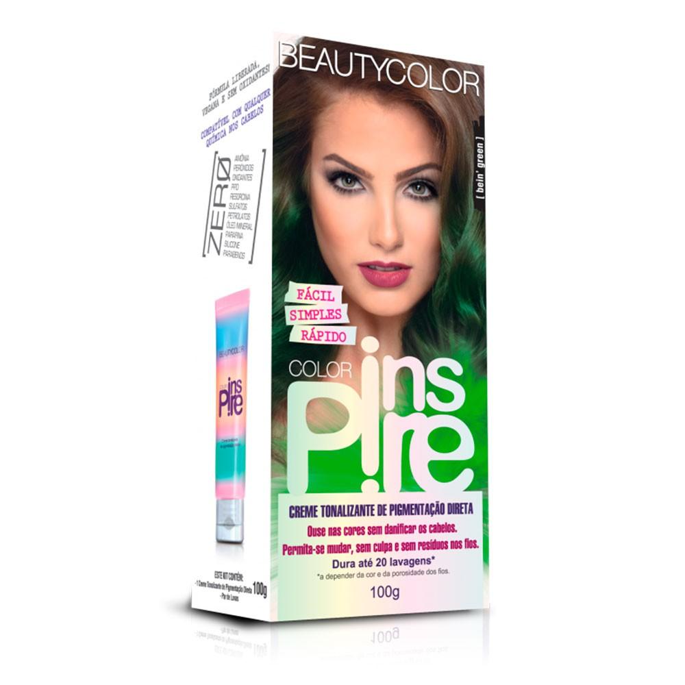 Tonalizante Beautycolor Color Inspire - Bein Green 100g