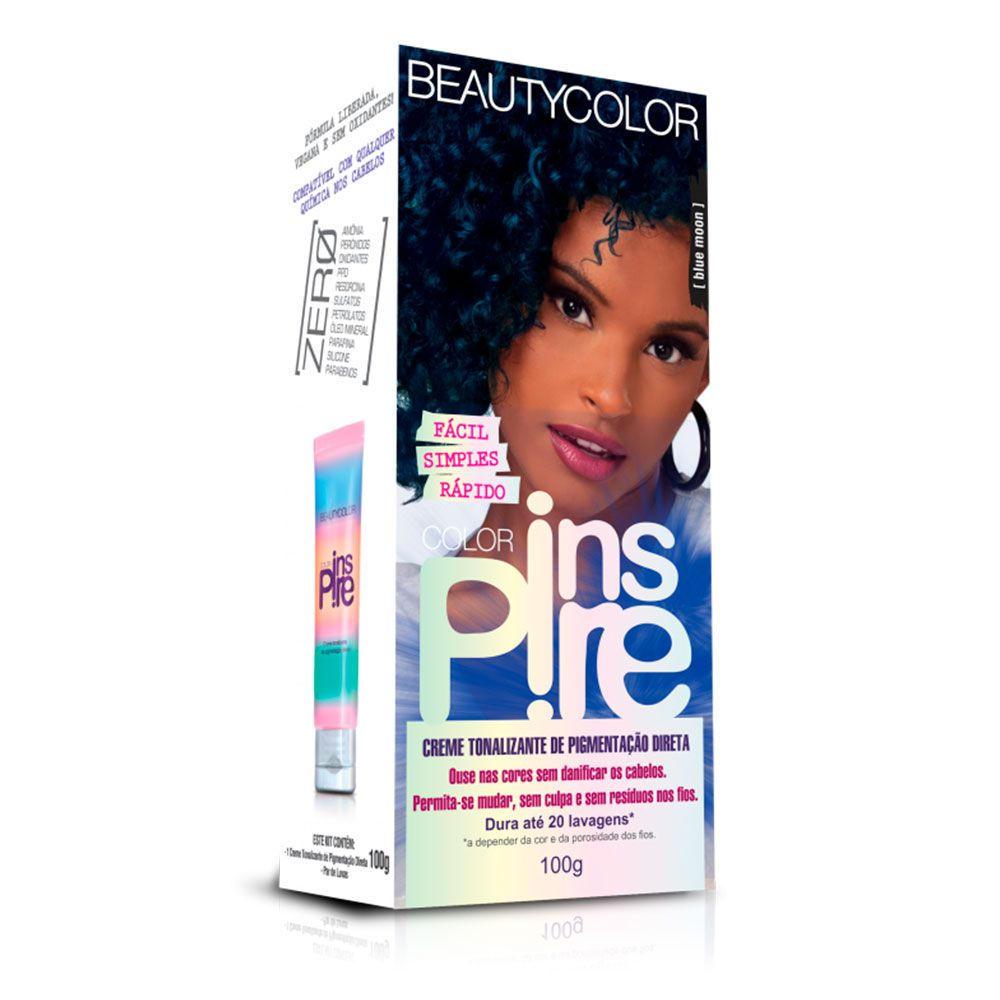 Tonalizante Beautycolor Color Inspire - Blue Moon 100g
