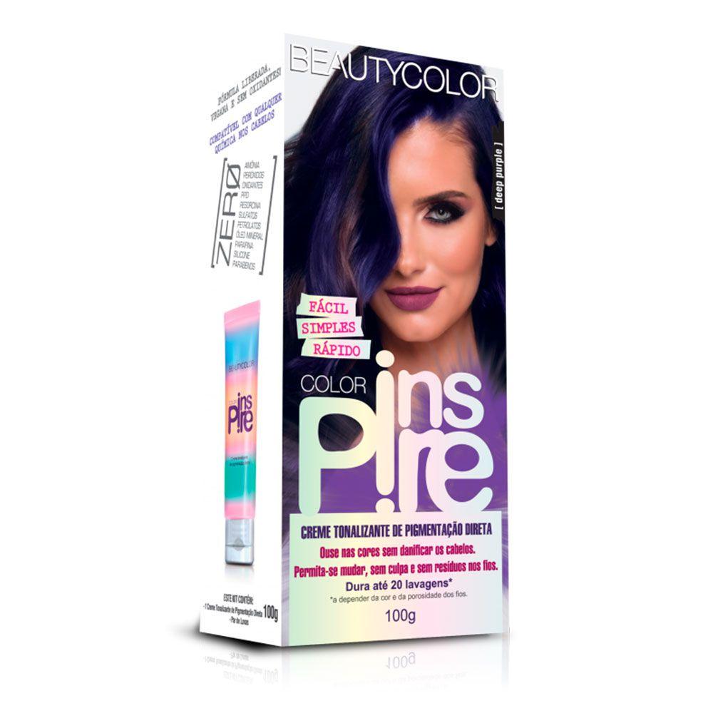 Tonalizante Beautycolor Color Inspire - Deep Purple 100g