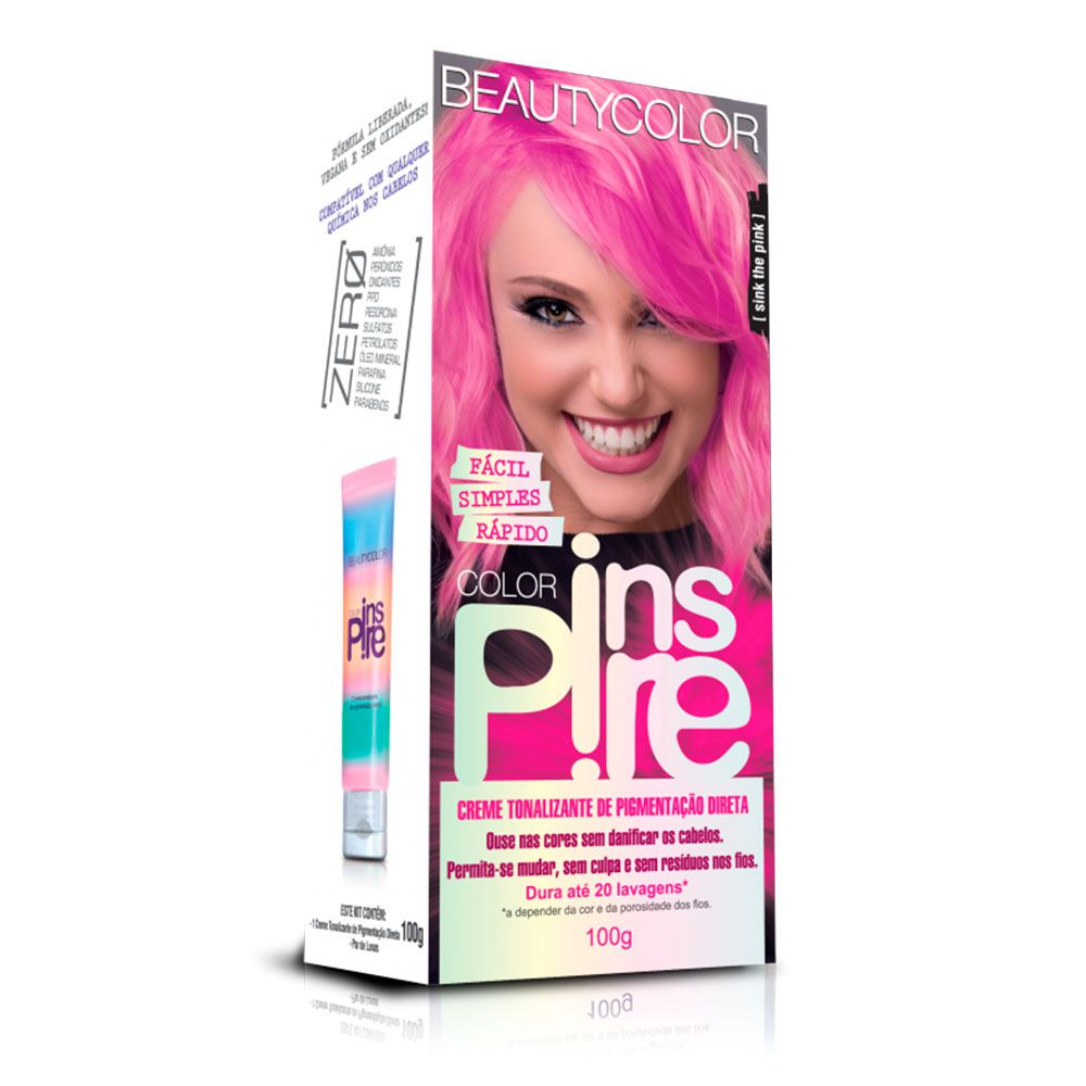 Tonalizante Beautycolor Color Inspire - Sink The Pink 100g