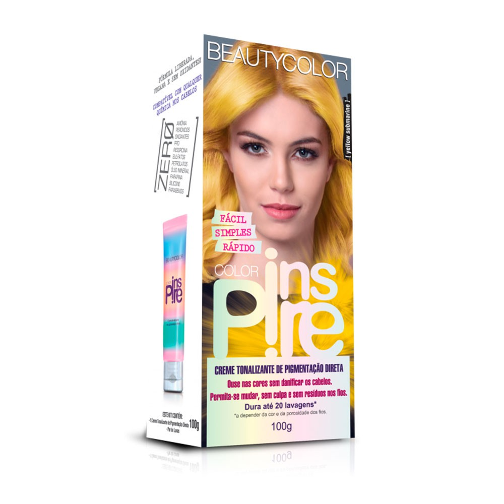 Tonalizante Beautycolor Color Inspire - Yellow Submarine 100g