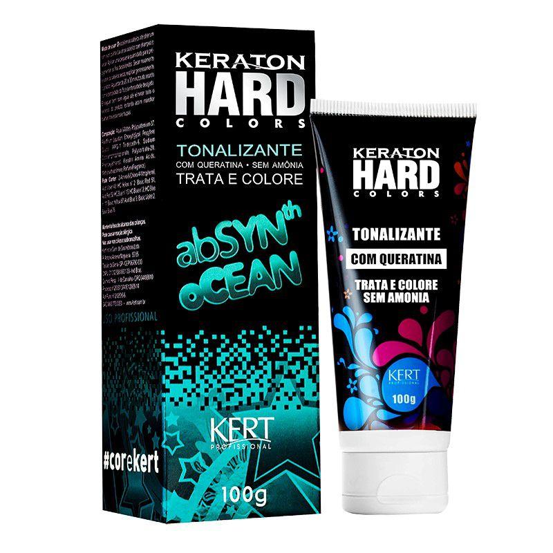Tonalizante Keraton Hard Colors - Absynth Ocean 100g
