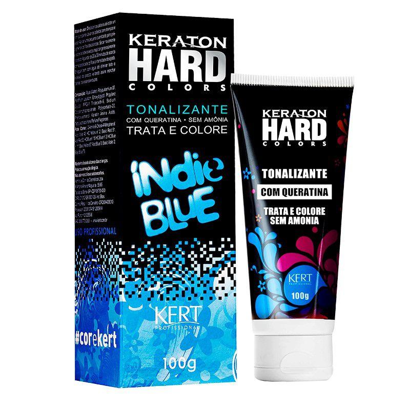 Tonalizante Keraton Hard Colors - Indie Blue 100g