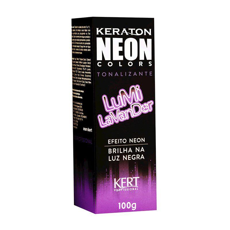 Tonalizante Neon - Keraton Neon Colors - Lumi Lavander 100g